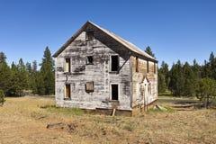 Stary Górniczy budynek Zdjęcia Stock