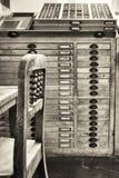 stary gabinetowy segregowanie Zdjęcie Stock