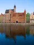 stary Gdansk miasteczko Zdjęcia Royalty Free