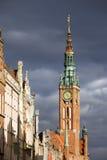 stary Gdansk miasteczko Fotografia Royalty Free