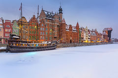 stary Gdansk miasteczko Poland Zdjęcie Stock