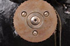 Stary gearwheel od starego projektoru obrazy royalty free