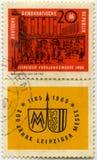 Stary Germański znaczek Zdjęcia Stock