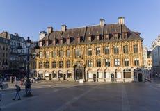 Stary giełda papierów wartościowych w Lille, Francja obrazy royalty free