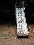 Stary gnicia żelaza suwak fotografia stock