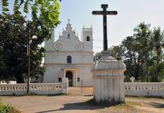 Stary Goa kościół Fotografia Stock