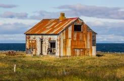 Stary gospodarstwo rolne dom Zdjęcie Stock