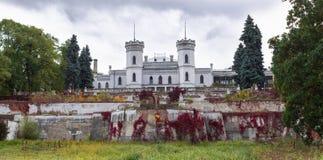 Stary gothic Koenig pałac Kasztel w Sharovka, Ukraina Obraz Stock