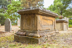 Stary grób Obrazy Stock