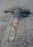 Stary grób - Praga ulica Zdjęcie Royalty Free