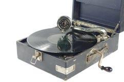 Stary gramofon Zdjęcie Royalty Free