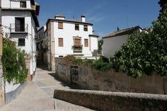stary Granada miasteczko Obraz Stock