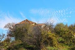 Stary grobowiec blisko Bakhchisarai miasta w Crimea fotografia stock