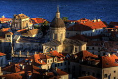 Stary Grodzki Dubrovnik Zdjęcie Royalty Free