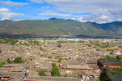 Stary grodzki Lijiang Fotografia Royalty Free