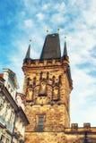 Stary Grodzki Mala Strana mosta wierza Prague Zdjęcie Royalty Free