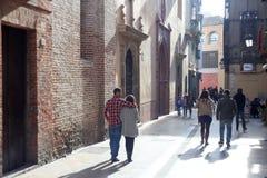 Stary grodzki Malaga Zdjęcia Stock