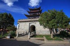 Stary grodzki miasto Dal, w Chiny Yunnan prowinci Obrazy Stock
