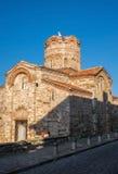 Stary Grodzki Nessebar Antyczny kościół Fotografia Stock