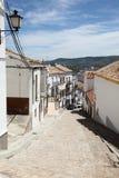 Stary grodzki Olvera, Hiszpania Obrazy Royalty Free