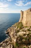 Stary grodzki przegląd Dubrovnik Croatia obraz stock