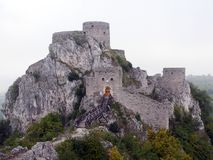 Stary grodzki Srebrenik Obraz Stock