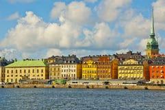 Stary Grodzki widok, Sztokholm, Szwecja Zdjęcia Royalty Free