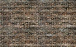 Stary grunge brązu ściana z cegieł tekstury tło obrazy stock