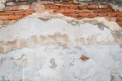 Stary grunge cegieł ściany powierzchni tło Fotografia Stock