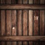 Stary Grunge drewno zaszaluje tło Fotografia Royalty Free