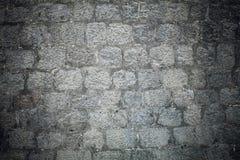 Stary grunge kamiennej ściany tło Fotografia Royalty Free