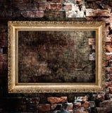 stary grunge ramowy wnętrze Obrazy Stock