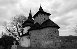 stary gurasada kościoła kamienia Obraz Royalty Free