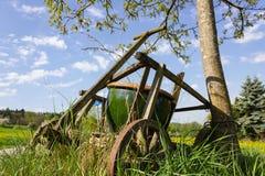 stary handcart fotografia royalty free