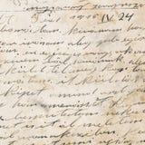 Handwriting - około 1915 Obrazy Royalty Free