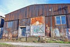 Stary hangar Fotografia Stock