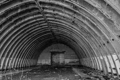 Stary hangar Obrazy Stock