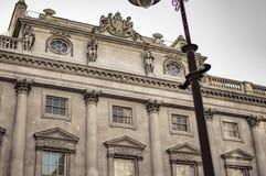 Stary historyczny budynek ochraniający pod prawem obrazy royalty free