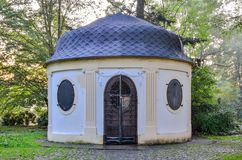 Stary historyczny herbaciany dom Obraz Stock