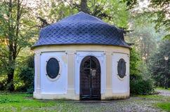 Stary historyczny herbaciany dom Fotografia Royalty Free