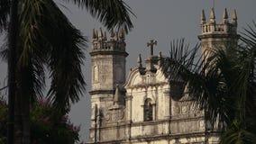 Stary historyczny kościół w India zbiory