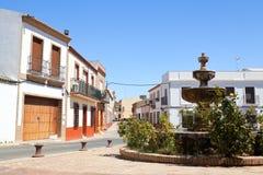 Stary Hiszpański grodzki Niebla (Huelva) Obrazy Stock