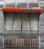 stary hiszpański okno Zdjęcia Stock