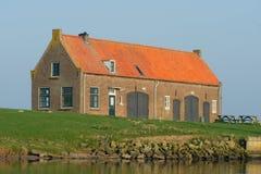 stary holenderski dom wiejski zdjęcia stock