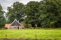 stary holenderski dom wiejski Obraz Royalty Free
