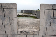 Stary Holenderski fort w Jaffna, Sri Lanka Zdjęcia Royalty Free