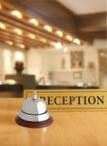 Stary hotelowy dzwon fotografia royalty free