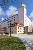 Stary Hrad - ancient castle in Bratislava Royalty Free Stock Photography