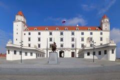 Stary Hrad - castillo antiguo Imagen de archivo libre de regalías