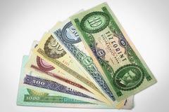 Stary hungarian pieniądze zdjęcia stock